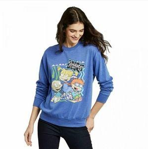 Nickelodeon TV Rugrats Cartoon XXL Blue Sweatshirt